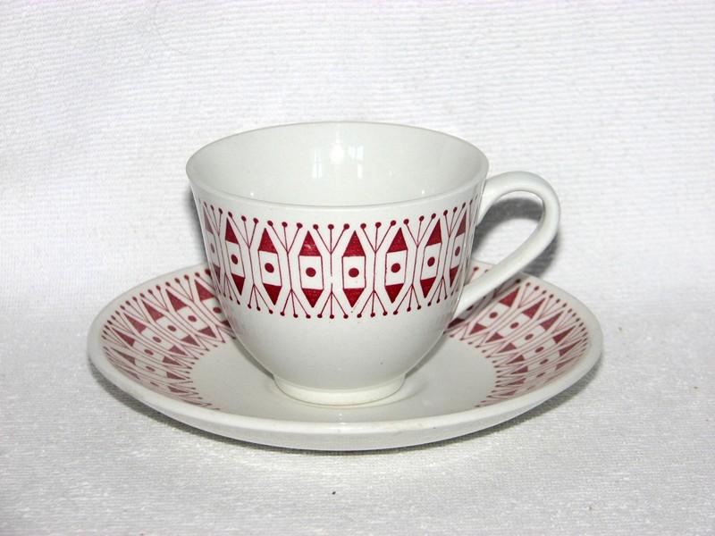 SGF, Prick röd, kaffekopp