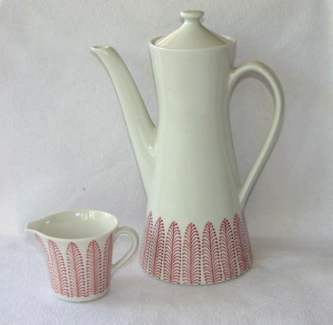 Plym, kaffeservis, 1958-